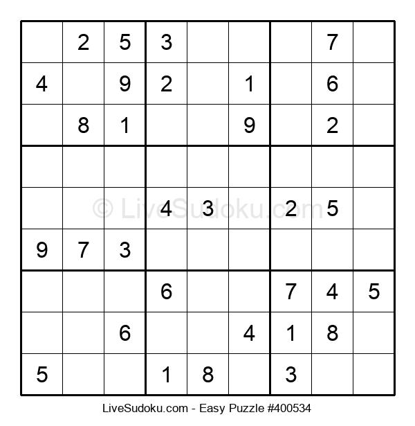 Beginners Puzzle #400534