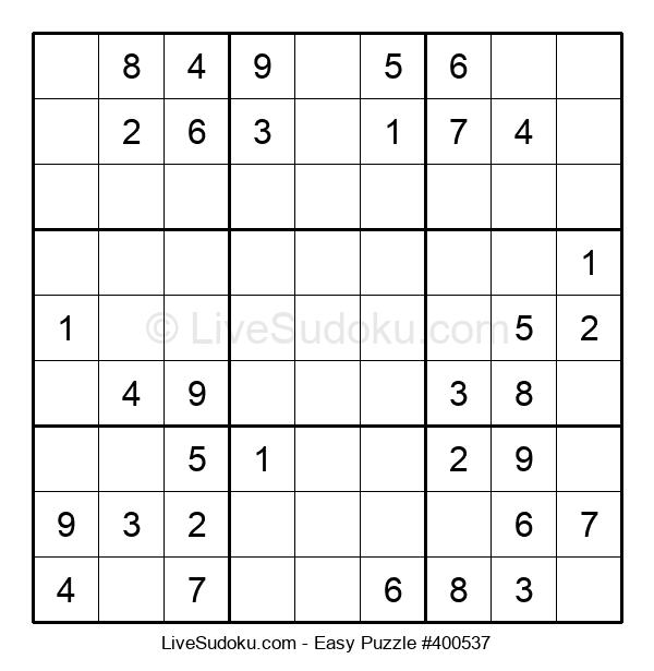 Beginners Puzzle #400537