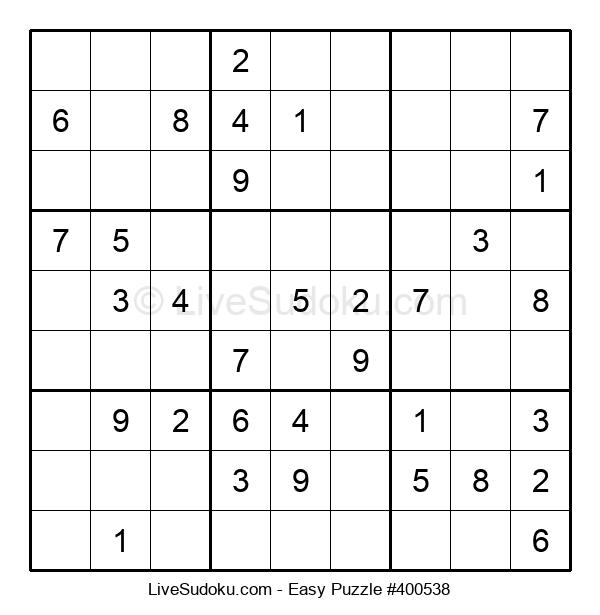 Beginners Puzzle #400538