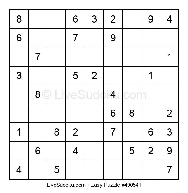 Beginners Puzzle #400541