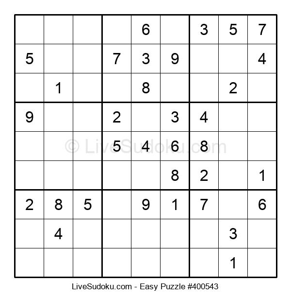 Beginners Puzzle #400543