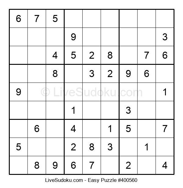 Beginners Puzzle #400560