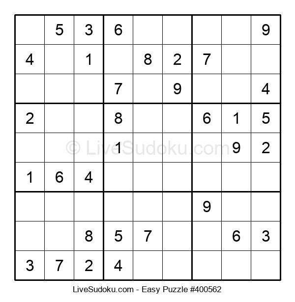 Beginners Puzzle #400562