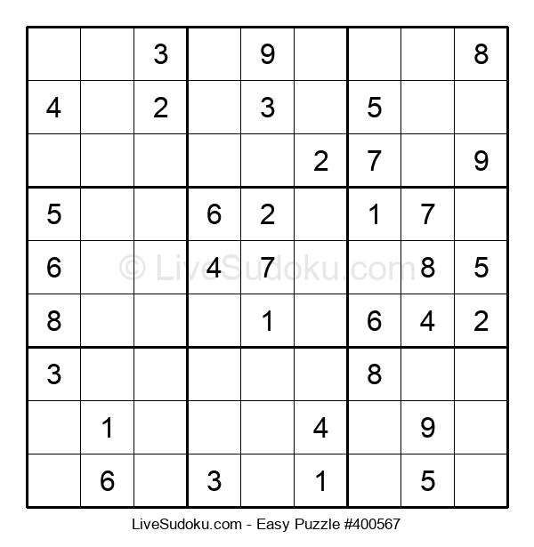 Beginners Puzzle #400567