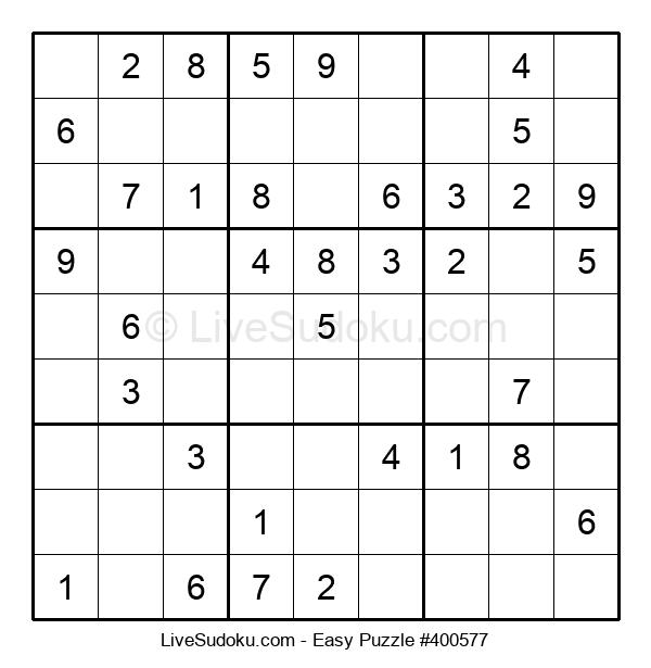 Beginners Puzzle #400577
