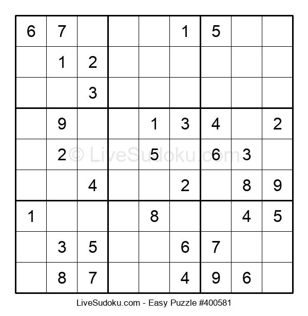 Beginners Puzzle #400581