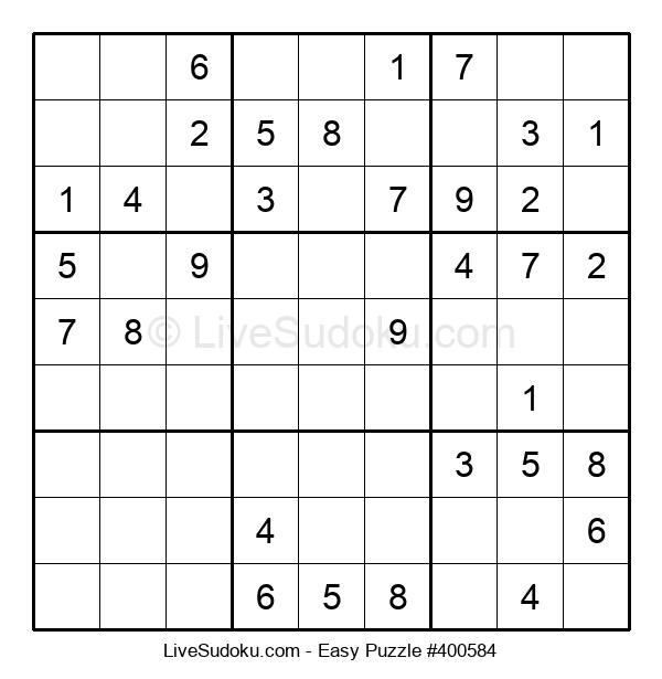 Beginners Puzzle #400584