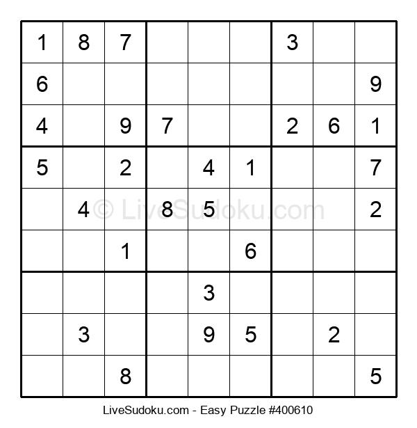 Beginners Puzzle #400610