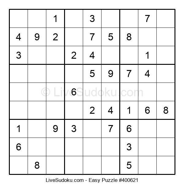 Beginners Puzzle #400621