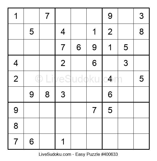 Beginners Puzzle #400633