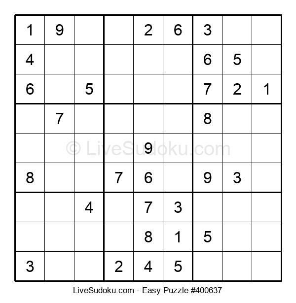 Beginners Puzzle #400637
