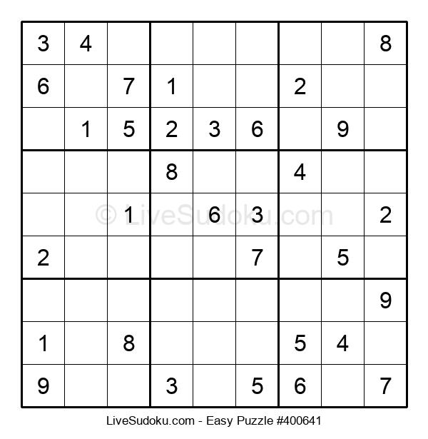 Beginners Puzzle #400641