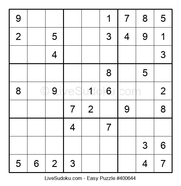 Beginners Puzzle #400644