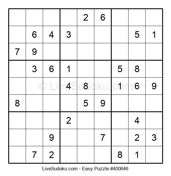 Beginners Puzzle #400646