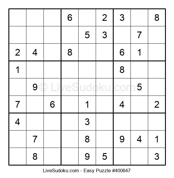 Beginners Puzzle #400647