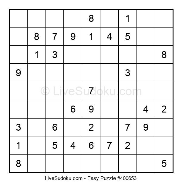 Beginners Puzzle #400653