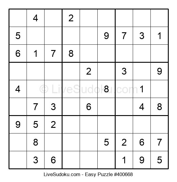 Beginners Puzzle #400668