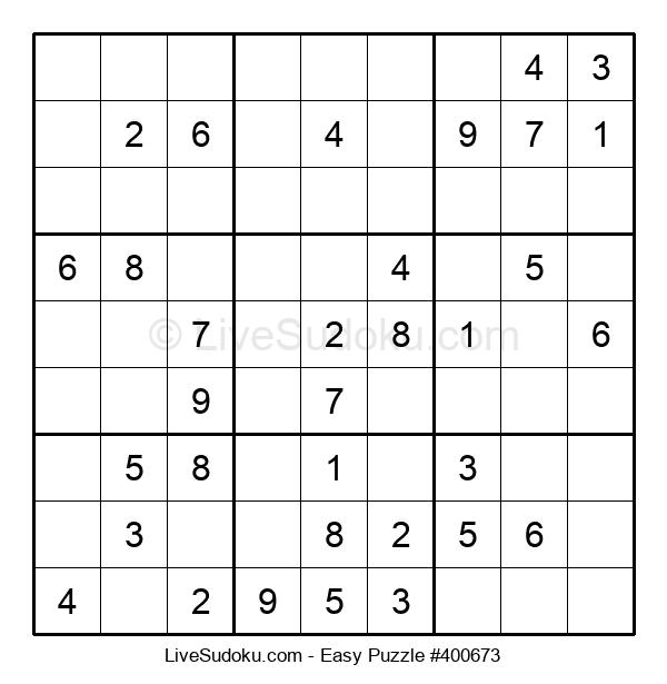 Beginners Puzzle #400673