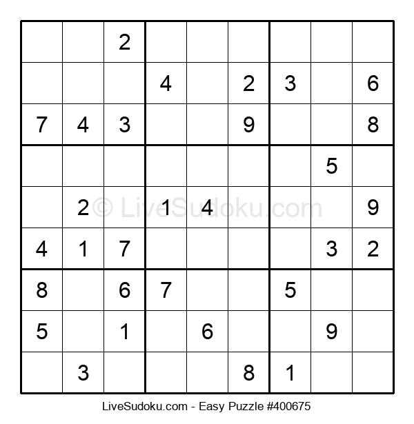 Beginners Puzzle #400675