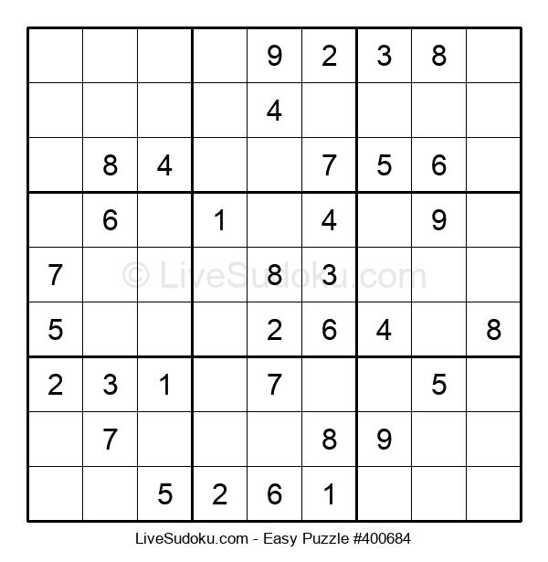 Beginners Puzzle #400684