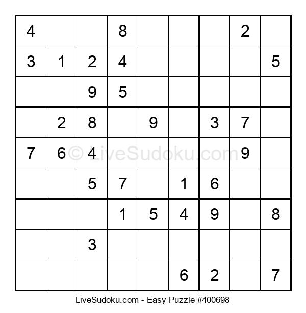 Beginners Puzzle #400698