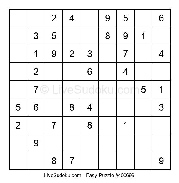 Beginners Puzzle #400699