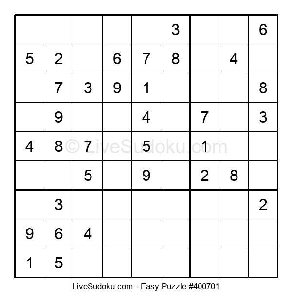 Beginners Puzzle #400701