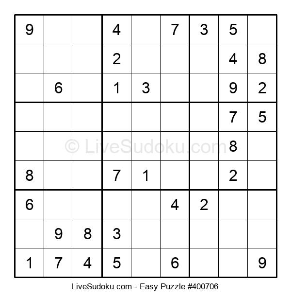 Beginners Puzzle #400706