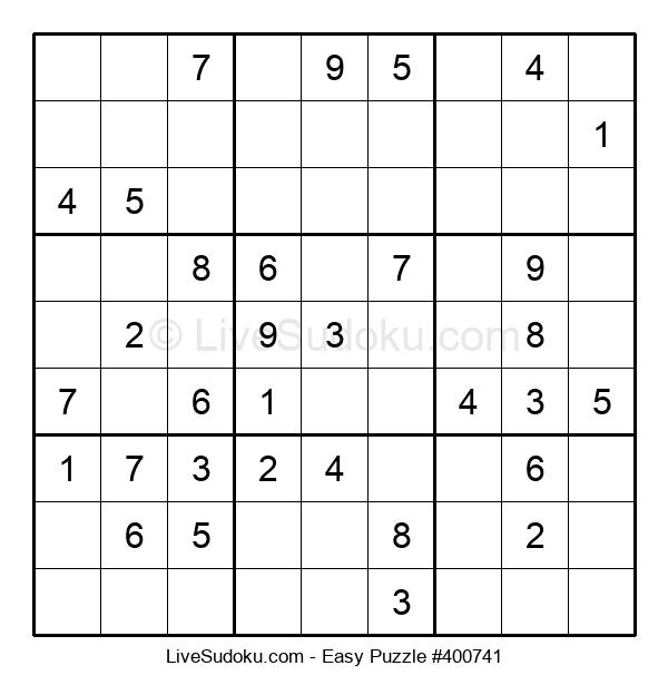 Beginners Puzzle #400741