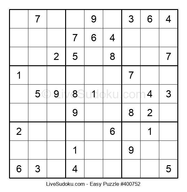 Beginners Puzzle #400752