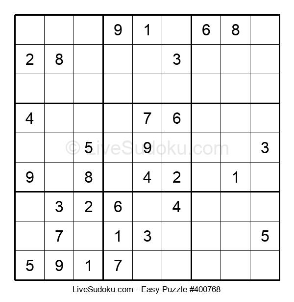 Beginners Puzzle #400768