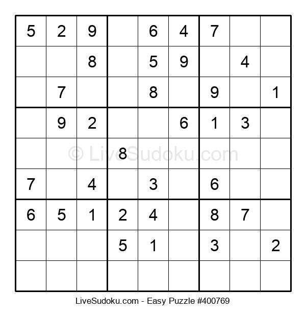 Beginners Puzzle #400769