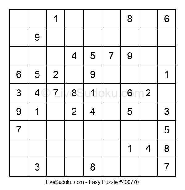 Beginners Puzzle #400770