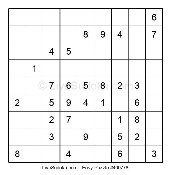 Beginners Puzzle #400778