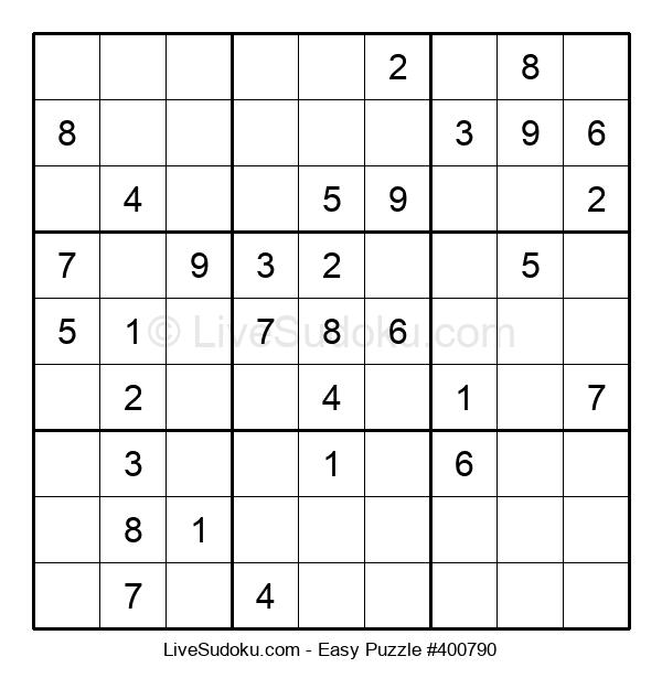 Beginners Puzzle #400790