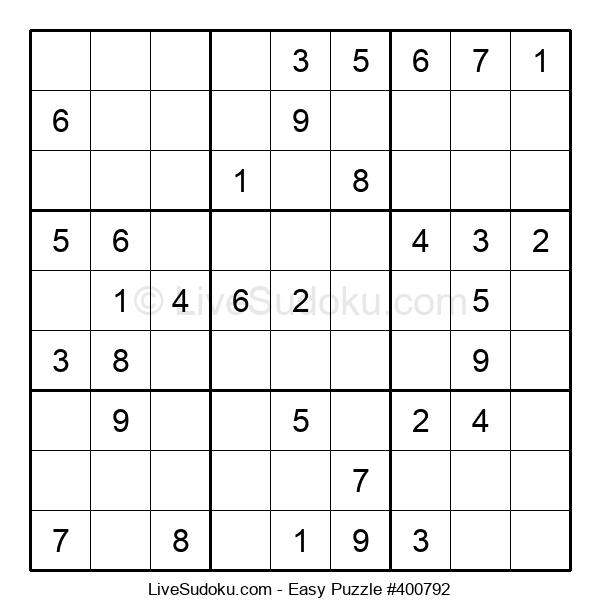 Beginners Puzzle #400792