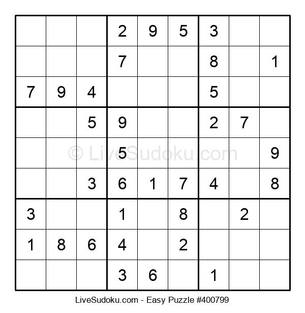 Beginners Puzzle #400799