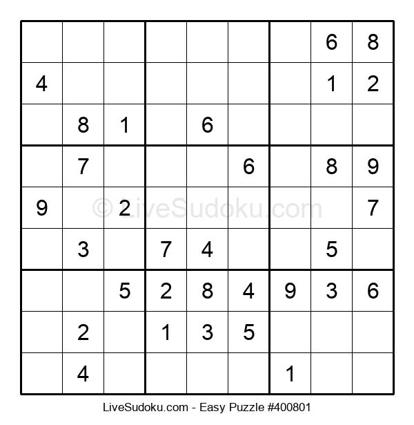 Beginners Puzzle #400801