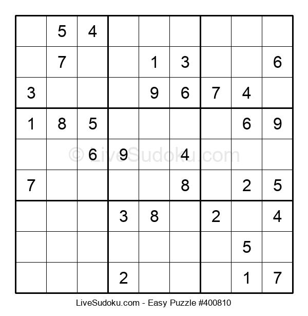 Beginners Puzzle #400810