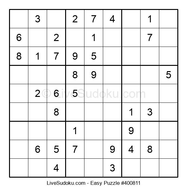Beginners Puzzle #400811