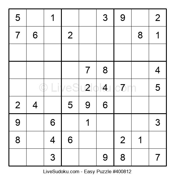 Beginners Puzzle #400812