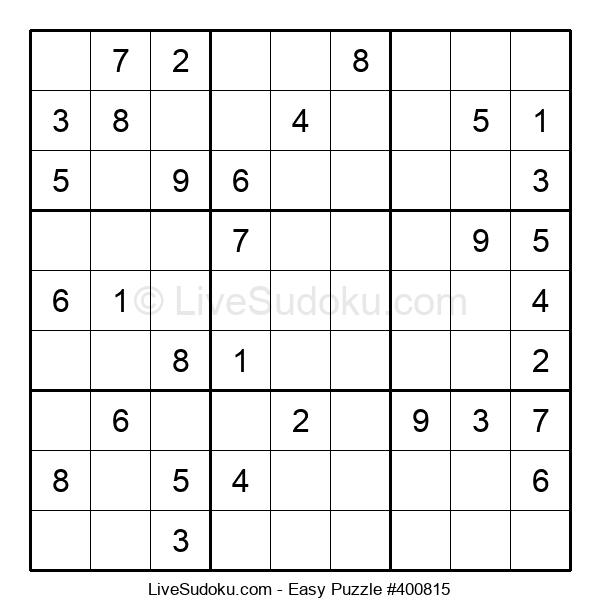 Beginners Puzzle #400815
