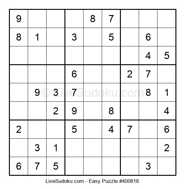 Beginners Puzzle #400818