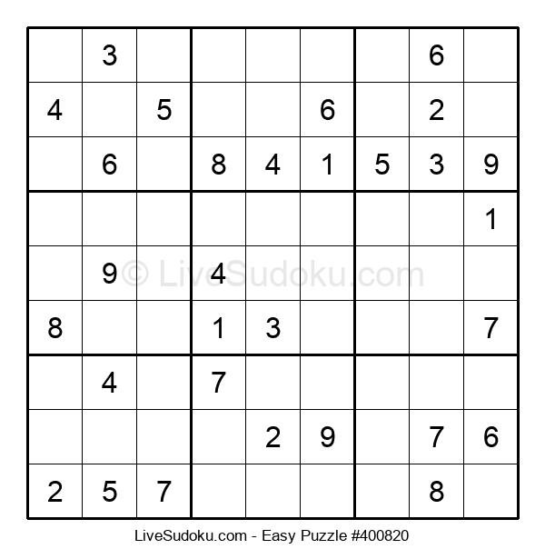 Beginners Puzzle #400820