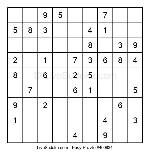 Beginners Puzzle #400834