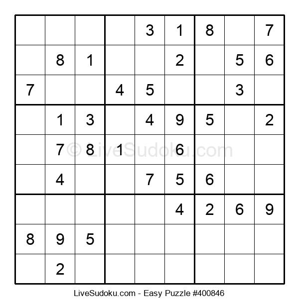 Beginners Puzzle #400846