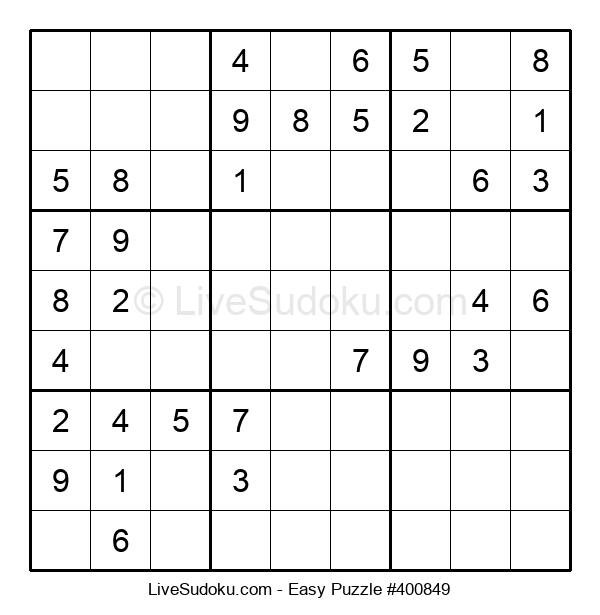 Beginners Puzzle #400849