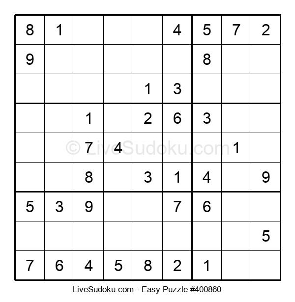 Beginners Puzzle #400860