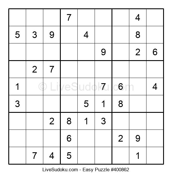 Beginners Puzzle #400862