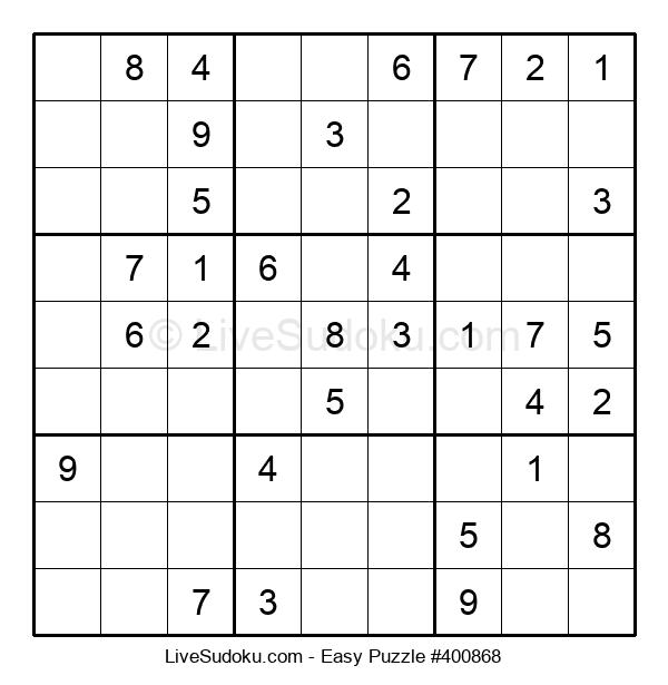 Beginners Puzzle #400868